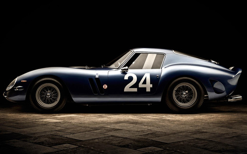 Ferrari GTO photographed by Blair Bunting