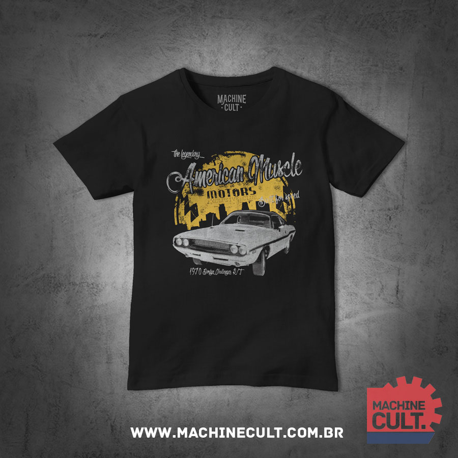 Camiseta_Dodge_Challenger_RT_Muscle_Car_3